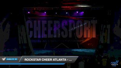 Rockstar Cheer Atlanta - 3 Doors Down [2019 Senior Medium 3 Day 2] 2019 CHEERSPORT Nationals