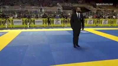 AIDAN Y. PINO GONZALEZ vs RYKER MARQUEZ 2021 Pan Kids Jiu-Jitsu IBJJF Championship