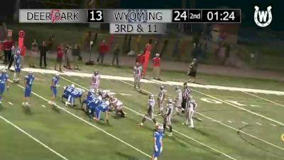 Replay: Wyoming vs Deer Park | Sep 24 @ 7 PM
