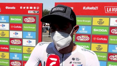 James Piccoli: Vuelta a España Stage 11 Climb 'Pretty Steep'