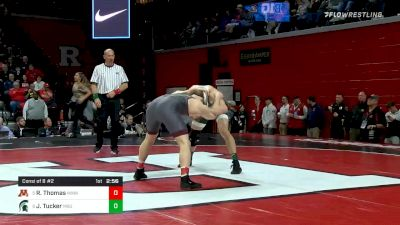157 lbs Consolation - Ryan Thomas, Minnesota vs Jake Tucker, Michigan State