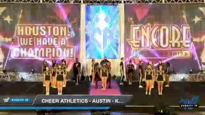 Cheer Athletics - Austin - Kryptonite [2020 L6 International Open Coed - NT Day 2] 2020 Encore Championships: Houston DI & DII