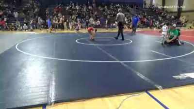 54 lbs Consolation - Conor Neal, Jefferson Wrestling Club vs Isaiah Martinez, Team Hammer House