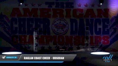 Raglan Coast Cheer - Obsidian [2021 L2 Youth - Medium Day 1] 2021 The American Celebration DI & DII