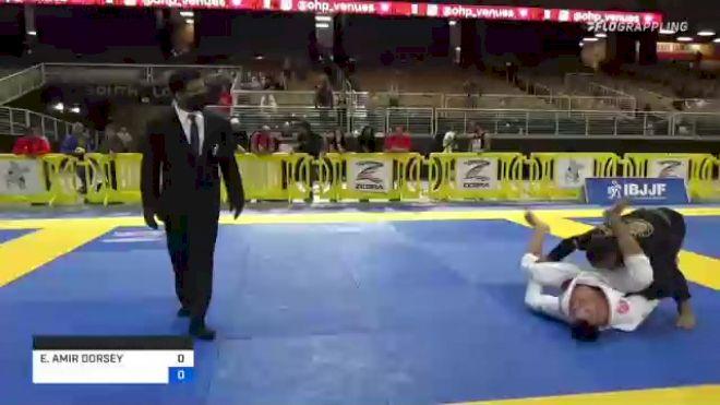 ELIJAH AMIR DORSEY vs GERSON ALEF DA SILVA OLIVEIRA 2021 Pan Jiu-Jitsu IBJJF Championship