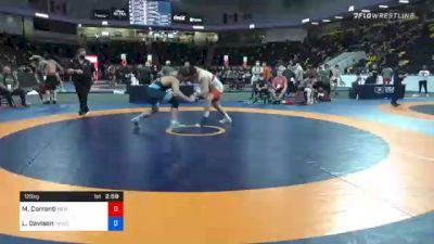 125 kg Consolation - Mauro Correnti, New York Athletic Club vs Lucas Davison, TMWC/ Wildcat Wrestling Club