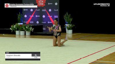 Nagham Shorafa - Ball, Ontario - 2019 Canadian Gymnastics Championships - Rhythmic