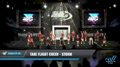 Take Flight Cheer - Storm [2021 L2 Senior Day 1] 2021 The U.S. Finals: Kansas City