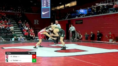 157 lbs Consolation - Fernie Silva, Indiana vs Jake Tucker, Michigan State