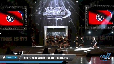 CheerVille Athletics HV - Cookie Monsters [2021 L1.1 Tiny - PREP Day 1] 2021 The U.S. Finals: Louisville