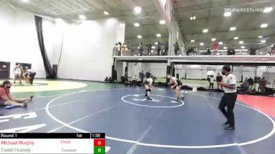 160 lbs Rr Rnd 1 - Michael Murphy, Frost Gang/westfield vs David Hussey, Triumph