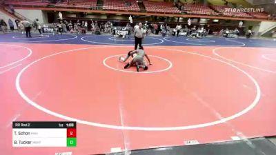 130 lbs Rr Rnd 5 - Kellan Hurd, Miller vs Omar Bautista, Camel Kids