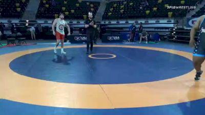 130 kg Prelims - Mauro Correnti, Pennsylvania RTC vs Malcolm Allen, South Dakota