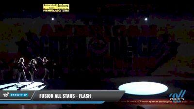 Fusion All Stars - Flash [2021 L3 Youth - Small Day 1] 2021 The American Celebration DI & DII