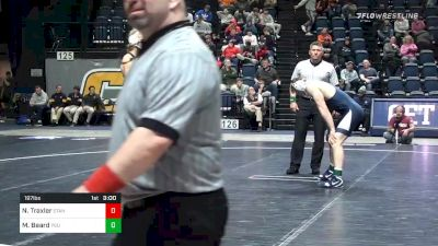 197 lbs Semifinal - Nathan Traxler, Stanford vs Michael Beard, Penn State