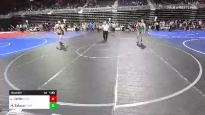 174 lbs Rr Rnd 2 - Juston Carter, Powell WC vs Marquez Salazar, Adams City