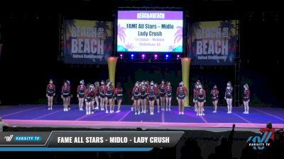 FAME All Stars - Midlo - Lady Crush [2021 L4 Senior - Medium Day 2] 2021 ACDA: Reach The Beach Nationals