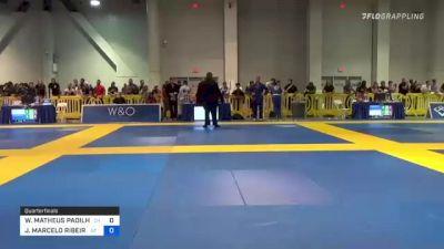 WILLIAM MATHEUS PADILHA MACIEL vs JOAO MARCELO RIBEIRO 2021 American National IBJJF Jiu-Jitsu Championship