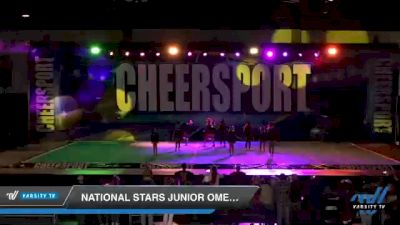 National Stars Junior Omega [2021 Junior 1 Novice D2] 2021 CHEERSPORT: Atlanta Grand Championship
