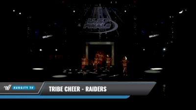 Tribe Cheer - Raiders [2021 L1 Junior Day 1] 2021 The U.S. Finals: Kansas City