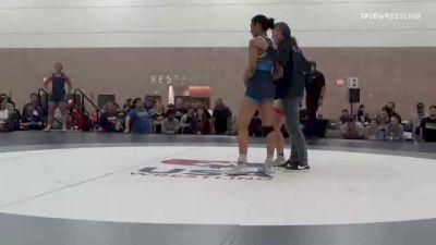 76 kg Rr Rnd 2 - Kylie Welker, WI vs Yelena Makoyed, CA
