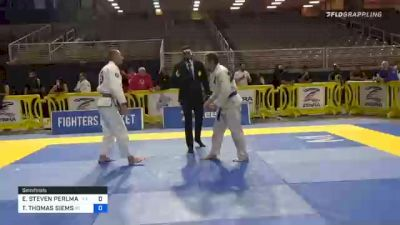ERIC STEVEN PERLMAN vs TODD THOMAS SIEMS 2020 World Master IBJJF Jiu-Jitsu Championship