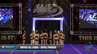 Empire All Stars - Royal Phoenix [2021 L3 Senior - Small - B Day 2] 2021 The U.S. Finals: Ocean City