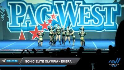 Sonic Elite Olympia - Emerald Queens [2020 L1 Senior - Small Day 2] 2020 PacWest