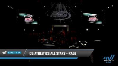 CG Athletics All Stars - Rage [2021 L2 Junior - D2 - Medium Day 1] 2021 The U.S. Finals: Kansas City