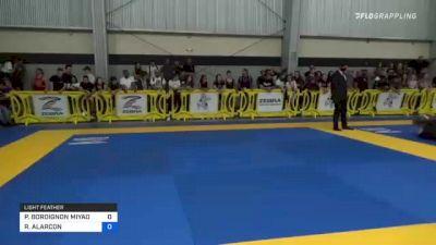 PAULO BORDIGNON MIYAO vs RICHARD ALARCON 2021 Pan IBJJF Jiu-Jitsu No-Gi Championship