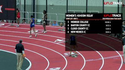 Women's 4x400m Relay, Heat 2