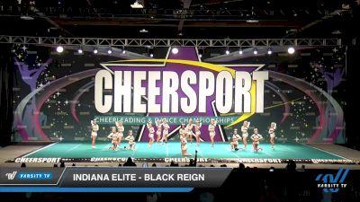Indiana Elite - Black Reign [2020 Senior XSmall 6 Division B Day 2] 2020 CHEERSPORT National Cheerleading Championship