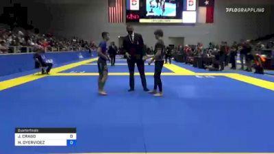 JOSHUA CRAGO vs HOMERO OYERVIDEZ 2021 World IBJJF Jiu-Jitsu No-Gi Championship