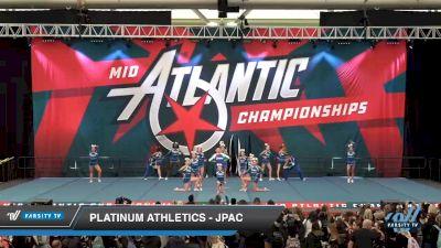 Platinum Athletics - JPAC [2020 L6 Junior Coed Day 1] 2020 Mid-Atlantic Championships