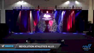 Revolution Athletics Allstars - RAMPAGE [2021 L1 Junior - D2 - Small Day 2] 2021 The American Royale DI & DII