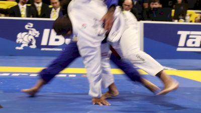 Mahamed Aly Injures Leandro Lo's Shoulder During Takedown Blitz