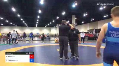 65 kg 5th Place - Parker Filius, Boilermaker RTC vs Clay Carlson, Jackrabbit Wrestling Club