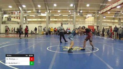 Prelims - Mason Phillips, North Carolina vs Doug Gudenburr, The Citadel