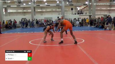 Prelims - Justin Phillips, UVA-Unattached vs Kristian Scott, Virginia Tech