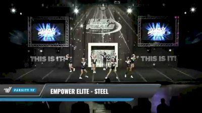 Empower Elite - Steel [2021 L3 Junior Day 1] 2021 The U.S. Finals: Kansas City