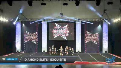 Diamond Elite - Exquisite [2021 L1 Junior - D2 - Small Day 1] 2021 JAMfest Cheer Super Nationals