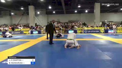JASON C COMPTON vs BRUNO MUNDURUCA 2021 American National IBJJF Jiu-Jitsu Championship