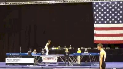 Xavier Gonzalez - Individual Trampoline, Stars Gymnastics - 2021 USA Gymnastics Championships