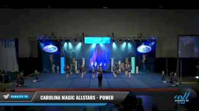 Carolina Magic Allstars - Power [2021 L2 Junior - D2 - Small Day 2] 2021 Return to Atlantis: Myrtle Beach