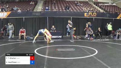 61 kg Quarterfinal - Frankie Tal-Shahar, Sheldon Wrestling Academy Training vs Ethan Kauffman, Unattached