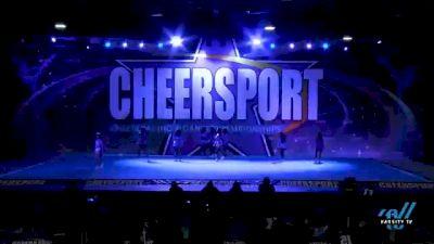 The All Star Gym - Senior Black [2021 L3 Senior - D2 - Small Day 1] 2021 CHEERSPORT National Cheerleading Championship