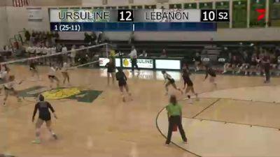 Replay: Lebanon vs Ursuline Academy - 2021 Lebanon vs Ursuline | Oct 13 @ 6 PM