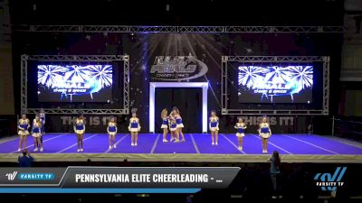 Pennsylvania Elite Cheerleading - Incredibles [2021 L3 Youth Day 2] 2021 The U.S. Finals: Ocean City