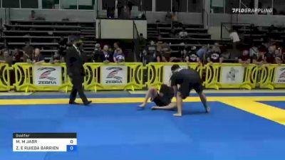 MAHMOUD M JABR vs ZAID E RUIEDA BARRIENTOS 2021 Pan IBJJF Jiu-Jitsu No-Gi Championship