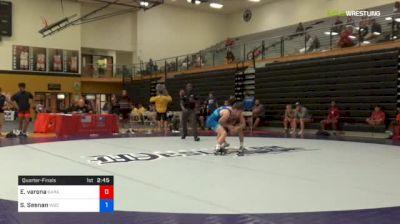 55 kg Quarterfinal - Elijah Varona, Garage Boyz vs Sean Sesnan, Williams Baptist College
